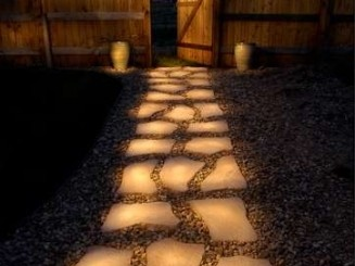 genius-line-a-pathway-with-rocks-painted-in-glow-in-the-dark-paint-during-the-day-they-charge-in-the-sun-and-in-the-evening-they-reflect-the-stored-light-rust-oleum-glow-in-the-dark-brush-on-paint